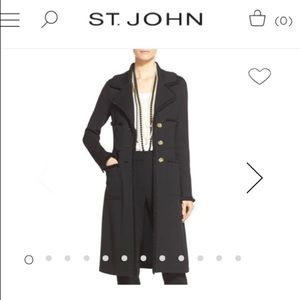 St.john long cardigan
